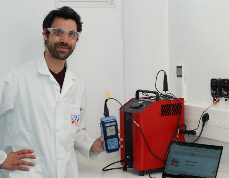Etalonnage de capteurs de température