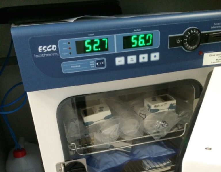 Mesures de température et d'hygrométrie